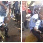 People Seize Gun From A Drunk Policeman, Pour Water On Him To Help Him Revive (photos)