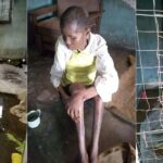 Man Cage Wife For Over 3-Years After She Was Accused Of Witchcraft In Delta (HORRIBLE PHOTOS)