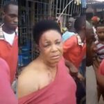 Woman Allegedly Returns Manhood She Stole In Aba After Serious Beating (Video)
