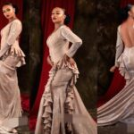 """""""This Is Devil's Dress"""" – Arewa Twitter Users Drag Actress Rahama Sadau Over Her Backless Dress (photos)"""