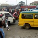 Policemen Allegedly Beat, Strip Driver And Destroy His Vehicle Over Refusal To Pay Bribe In Port Harcourt (PHOTOS)