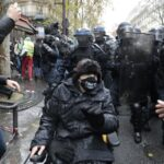 Scores arrested at new Paris protest against security law