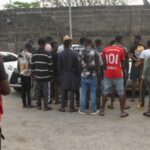 EFCC Arrest 21 Internet Fraudsters In Lekki