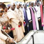 Makinde Weeps At His Mother's Funeral As Governors, Others Attend Occasion