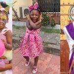Seun Kuti Celebrates Daughter As She Turns 7 (photos)