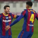 Messi equals Pele goal record but Barca lose more ground