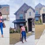 US-based Nigerian nurse celebrates as she becomes a home owner in America at 26 (photos)