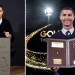 Ronaldo picks up Golden Foot Award (photos)