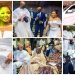 Photos From The Wedding Of Ex-President Obasanjo's Son, Seun Who Gifted His Bride A Mercedes Benz SUV