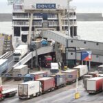 Lorry queues grow in Dover as EU set to meet over UK trade, travel ban