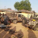 Troops Dealt Decisive Blow on Boko Haram in Asikra Uba (photos & video)