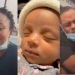 Photos & Video: Couple Cry Out After 2-Month-Old Twin Baby Dies Due To Alleged Negligence In Lagos Hospital