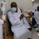 Atiku Abubakar receives Pfizer COVID-19 vaccine in Dubai (Photos)