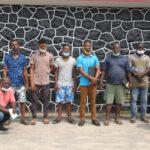 EFCC Arrests 10 Men Over Alleged Internet Fraud In Lagos