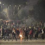 Clashes between Tunisian police, rioters continue in wake of revolution anniversary
