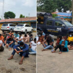 Police Parade COVID-19 Protocol Violators Arrested At Lagos Clubs (PHOTOS)