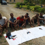 Police Parades Suspected Criminals, Impound Arms In Cross River (Photos)