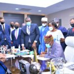 PHOTOS: FG Signs $1.959 Billion MOU For Construction Of Kano-Niger Republic Rail Project