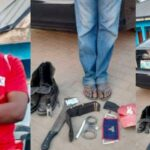 Photos: Man Arrested For Defrauding Victims By Impersonating As Superintendent Of Police, EFCC Operative