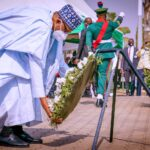 PHOTOS: Armed Forces Remembrance Day: Buhari, Lawan, Osinbajo, Others Graces Occasion
