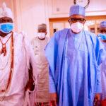 Ooni Of Ife Meets Buhari In Aso Rock