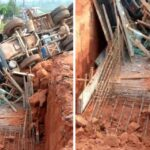 Cement Mixing Vehicle Falls, Kill Two Construction Workers In Benin