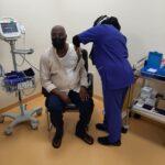 Atiku Abubakar Receives Second Dose Of COVID19 Vaccine (photos)