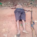Tragedy As 65-year-old Man Allegedly Kills Wife, Son And Himself In Anambra (Graphic Photos)