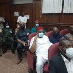 Orji Kalu Arrives Court For Arraignment On Fraud Allegations