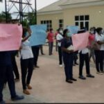 Ondo Nurses Protest Two Months' Salary Arrears, Accuse NANNM Leadership Of Cover-up