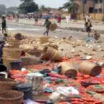 PHOTOS: Scores feared dead, 50 shops razed in Ibadan market clash