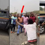 Breaking: Violent attempt by soldiers, DSS, policemen to arrest Sunday Igboho foiled (photos & video)