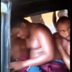 Shocking Video Shows Comedian, Mr. Macaroni, Others Being Dehumanised After Arrest By Police