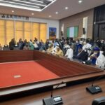 BREAKING: Buhari's CoS, DSS, IGP Adamu, Makinde, Others Attend Security Meeting [Photos]