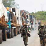 VIDEO: DHQ Warns Against Obstructing Vehicles Conveying Food From North To South