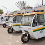 Ogun State Tackles Maternal Mortality, Distribute Tricycle Ambulances To Primary Health Centres (Photos)