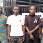 Lagos Police Arrest Four Suspected Traffic Robbers During An Attempt To Rob RRS Detectives