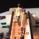 Video: Buhari Arrives In London For Routine Medical Checkup