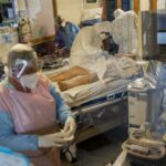 Increase in coronavirus infection rate dropping, but number of people in ICU rises