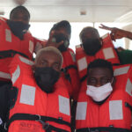 AFCON Qualifiers: Super Eagles Embark On Boat Trip To Benin Republic (Photos & Video)