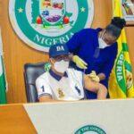 Gov Abiodun Receives COVID-19 Vaccine Jab