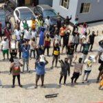 Photos: EFCC Arrest 57 Suspected Yahoo Boys, Recovers Cars, Pump Action Rifles In Ogun