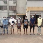 EFCC Arrest 10 Suspected Internet Fraudsters In Delta (photos)