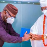 Insecurity: Fayemi, Gani Adams meet