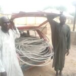 Two electricity staff nabbed for allegedly stealing cables in Adamawa