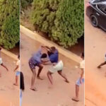 Mortal Kombat: Watch Viral Video Of Two KNUST Students Allegedly Fighting Over A Girl (photos & video)