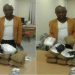 PHOTOS: Man Intercepted With Over N2bn Worth Of Illicit Drugs At Lagos Airport