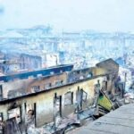 Goods Worth Millions Destroyed As Fire Razes Popular Oyo Market