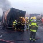 BREAKING: Another Tanker Fire Razes Vehicles In Lagos (photos)