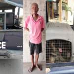 PHOTOS: Lagos Resident Arrested For Unleashing Dogs On A Female Police Officer
